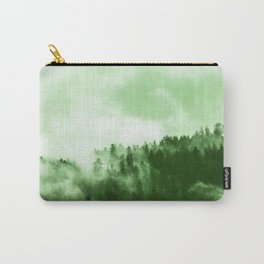 Clear away the fog to see the light. Green Carry-All Pouch
