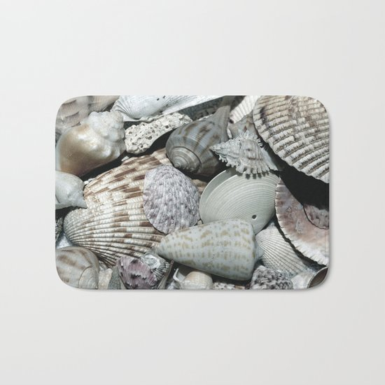 Sea Shells Bath Mat