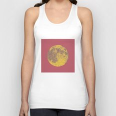 Chinese Mid-Autumn Festival Moon Cake Print Unisex Tank Top