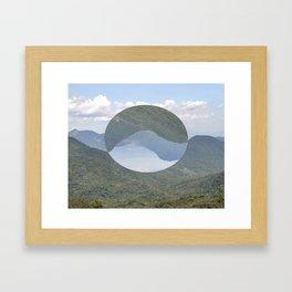 Slice of Paradise Framed Art Print