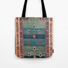 Sivas Antique Turkish Niche Kilim Print Tote Bag