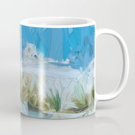 White Sands New Mexico Abstract Coffee Mug