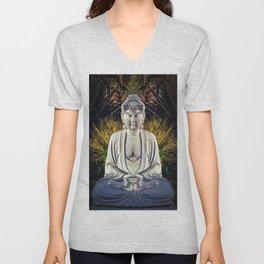 Bad Day Buddha Unisex V-Neck