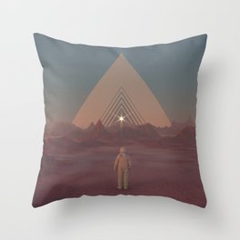 Lost Astronaut Series #01 - Enter the Void Throw Pillow