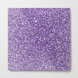 Purple shine Metal Print