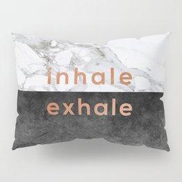 Inhale Exhale Copper Pillow Sham