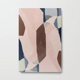 Start Over BA08 Abstract Art Metal Print