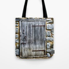 Door at the Mill Tote Bag