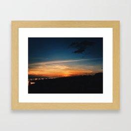 Twilight Hue Framed Art Print