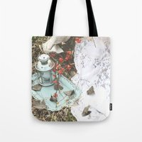 lanterns Tote Bags featuring Lanterns by JennaMarie