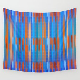 Stripes Soft and Crisp Wall Tapestry