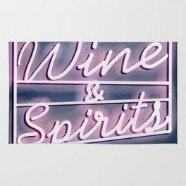 Wine and spirits Rug