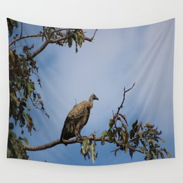Observant Vultures Wall Tapestry
