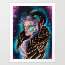 """Did He Make You Feel Like Wallpaper"" Painting Art Print"