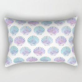 iridescent shells pattern Rectangular Pillow