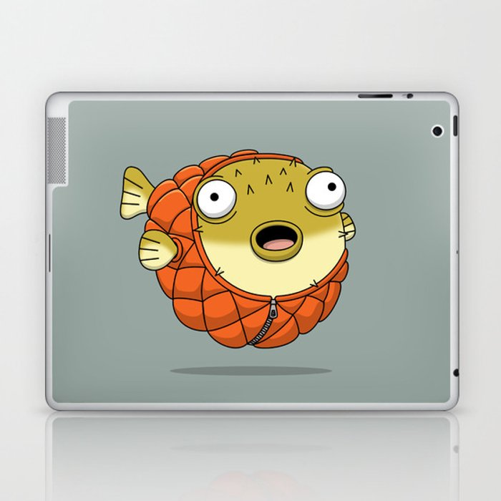 Puffer fish Laptop & iPad Skin