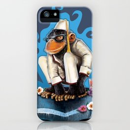 Cosmo At The Moon Palace iPhone Case