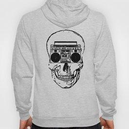 Skull Boombox Hoody