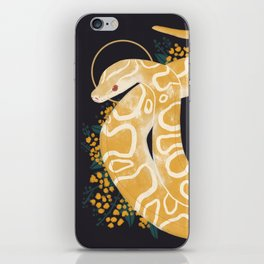 Familiar - Burmese Python iPhone Skin