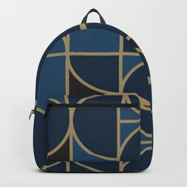 Morning Dance In Blue Big Scale Backpack