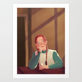 Anne with an E || Do you have a crush on Gilbert? Art Print