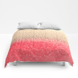 GOLD CORAL Comforters