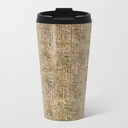 Egyptian Hieroglyphics Travel Mug