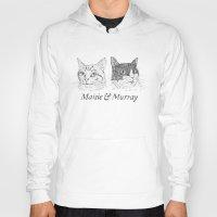 murray Hoodies featuring Maisie & Murray by Steven Quinn
