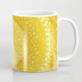 Golden Yellow Tapestry Mandala Coffee Mug
