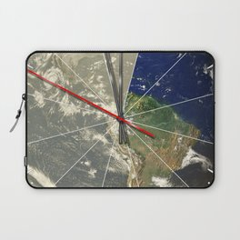 Doomsday Clock 01 Laptop Sleeve