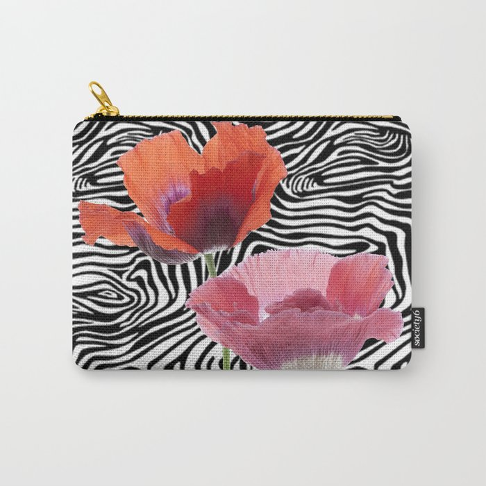 floral bar  Carry-All Pouch