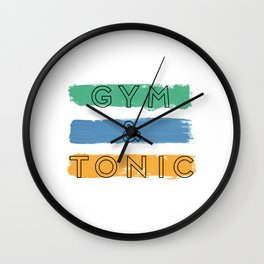 Gym & Tonic Wall Clock