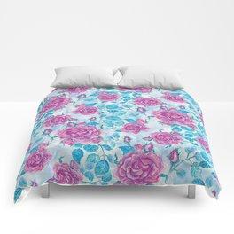 Evening Rose Comforters