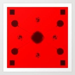 """Cellular alignment"" Art Print"