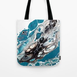 Blue flow Tote Bag