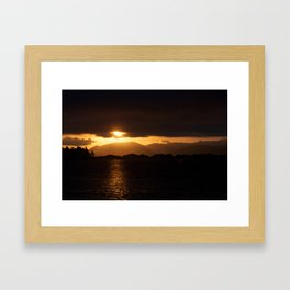 Radiant Dunedin Framed Art Print