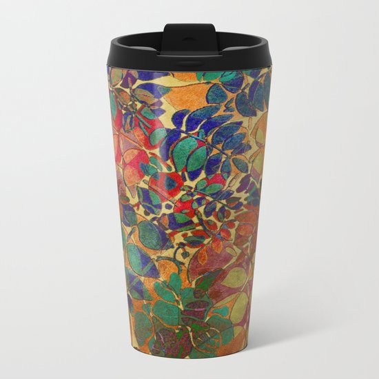 Love of Leaves Metal Travel Mug