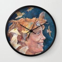 Women of Valor: Amelia Earhart Wall Clock