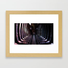 Split Infinities Framed Art Print