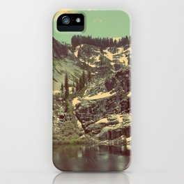 high sierras  iPhone Case
