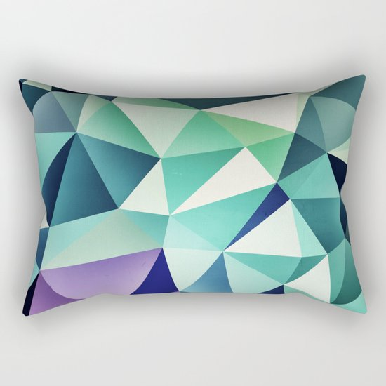 :: digital pattern :: Rectangular Pillow