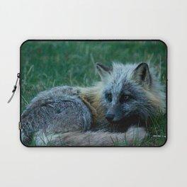 Fox Photography Print Laptop Sleeve