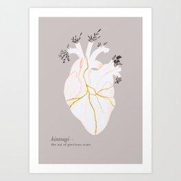 Kintsugi Art Print
