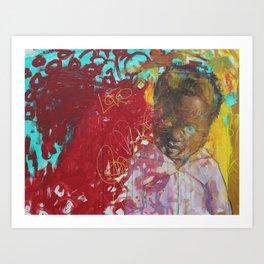 Swazi Art 1 Art Print