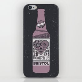 Vicious Cycle Brew iPhone Skin