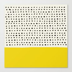 Sunshine x Dots Canvas Print