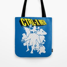 Ctrl-X Men Tote Bag