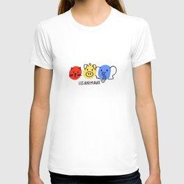 les animaux T-shirt