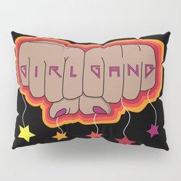 Girl Gang Star Fists Feminist Design Pillow Sham