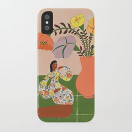Tory´s flowers iPhone Case
